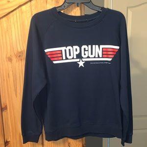 Unworn Top Gun sweatshirt